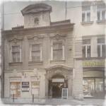 Barokní dům s kavárnou