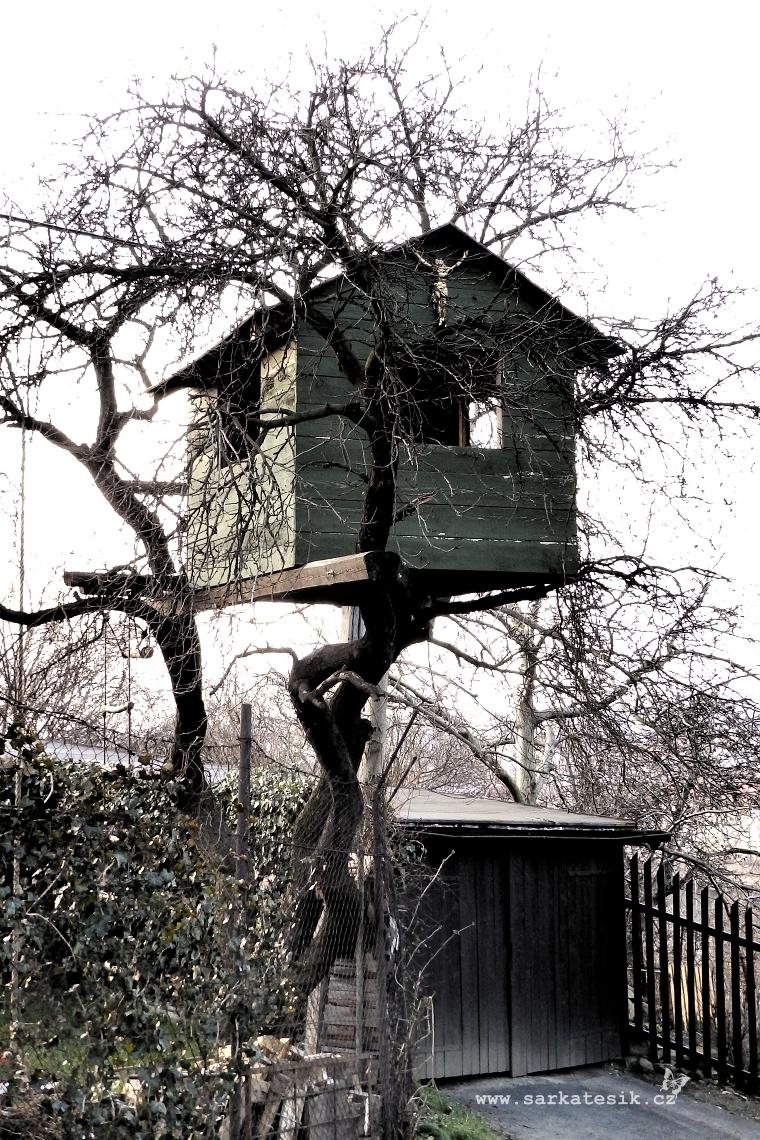 ...domek jako z pohádky o Mrazíkovi...