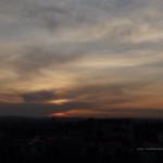 Slunce zapadá nad Kotlaskou