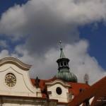 Hodiny a věž kláštera